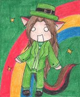 Happy St.Patrick's Day :D by Baka-Neko-Ninja