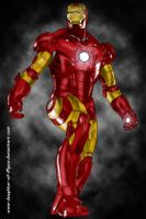 Iron Man by daughter-of-Myou