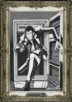 lupin 3 in a 50 refrigerator by handesigner