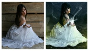 Let Go... Before and After by MelanieMaterne