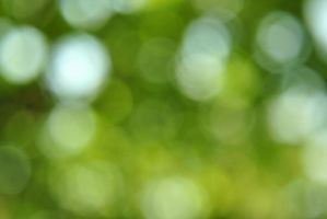 Green Bokeh by Snowflake20