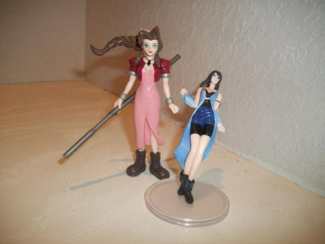 Aerith and Rinoa by AngelRinoaHeartilly