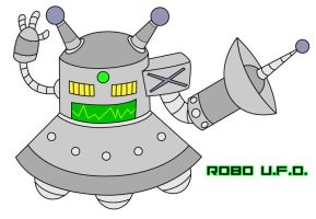 RoboUFO by KingMonster