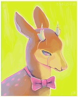 fawn candles by poplet