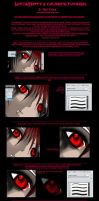 PhotoShop7 Tutorial - Eyes by NinjaMatty