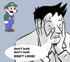 Don't Look to WEEGEE by Jhonatanwii360