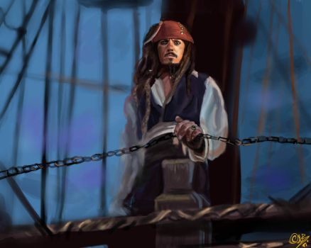 Captain Jack Sparrow by DreamyNatalie