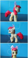 Apple Bloom Custom G4 Pony by EmR0304