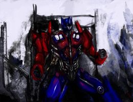 optimus by humantyphoon89