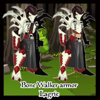 Bone Walker armor by lagrie