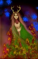 Forest Daughter by ToastInaJar