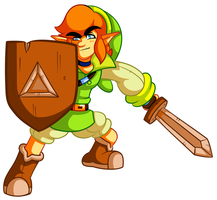 Young Link Design 2 by JamesmanTheRegenold