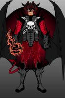 The Satan himself by MIKEYCPARISII