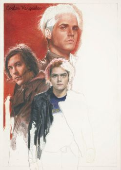 My Chemical Romance WIP by Tokiiolicious