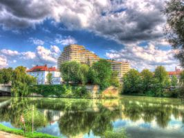 Another side Danube/Donau Ulm Germany HDR by gogo100878