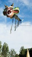 dragon flying kite by teguhrams