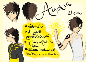 New OC - Ayden by GreeNissy