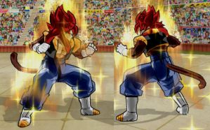 Gogetto SSj4 V1 by Fipossss