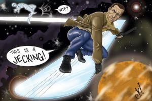 Jecking the Power Cosmic by JOEYDES