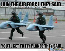 Join the airforce they said by boeingboeing2