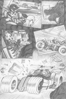 The Phantom Duck's car by Av3r