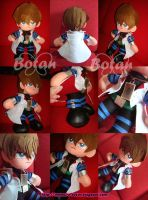 Seto Kaiba plush version by Momoiro-Botan