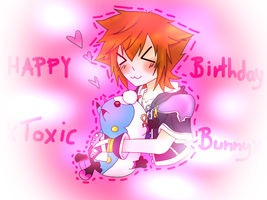 Happy birthday xToxic-Bunnyx by aerith31
