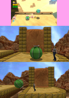 Super Mario 3D World x Second Life Cactus by RazorVolare