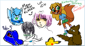 iScribble dA 2 by pokr5