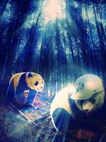 Unshared Panda by jaspeck