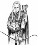 Supposed to be Legolas by Galbatore
