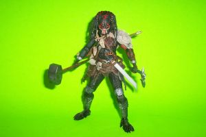 Demon Hunter Predator - 7-Inch Scale Custom Figure by Drakhand006