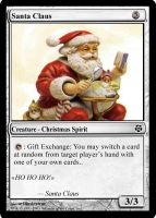 Magic the Gathering... SANTA? by KosakStickjedi