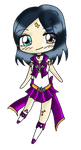 G: Sailor Azotic Topaz Hummingbird by TenshiNeera