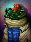 Slippy the Star Toad by Dogsfather