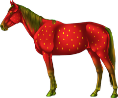 Strawberry Horse by emmy1320