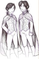 Regulus and Sirius by thirty-six