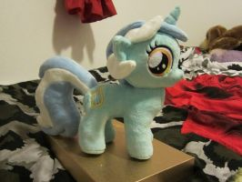My little pony Filly Lyra Plushie by Little-Broy-Peep