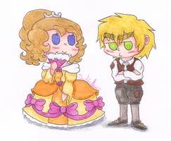APH - The Princess And The Pauper by Rainbowspark88