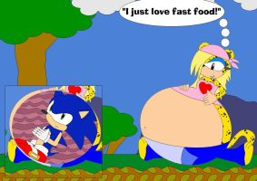Sarah Loves Fast Food by Kphoria