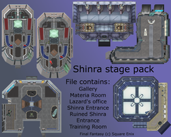 MMD Shinra stage pack DL by 0-0-Alice-0-0