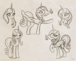 Fleur de Lis sketches by KP-ShadowSquirrel