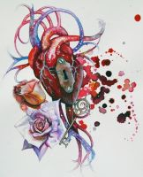 hearts keys and locks by Phedre1985