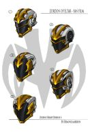 Zordon Helmet sheet1 by BoredToLife