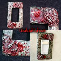 Zombie Deluxe Switch Plate by Undead-Art
