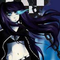 Black rock shooter by Appelmos