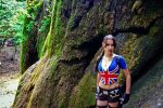 Lara Croft - union jack by TanyaCroft