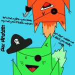 Teh pirate foxes of doooom by sexytoaster