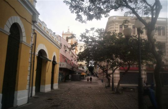 Historical Centre of Florianopolis, Brazil. by Argenx