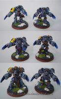 Space Wolves Wolf Guard VI by Arastoru
